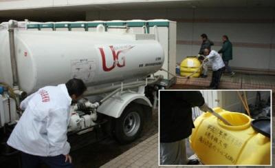 今、浦学にできること 生活用水などの物資を提供
