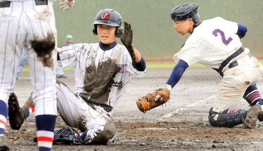 浦和学院-春日部東、6回途中降雨中止 再試合4日に順延