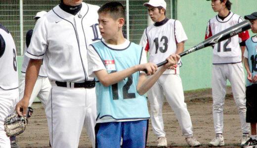 元埼玉西武・鈴木健さん(8期生)ら、障害者に野球指導