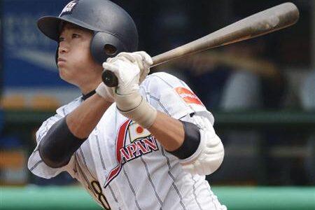日本、イタリアに快勝し3連勝 笹川が先制の犠飛 18U世界野球