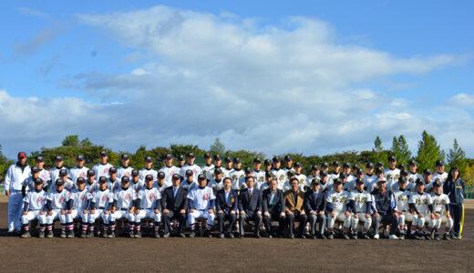浦和学院、招待試合に参加 秋田北鷹高校野球場完成記念