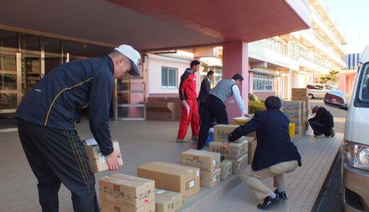 12月21日~23日、浦学野球部が石巻での交流活動に参加