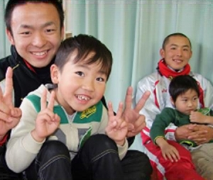 浦和学院野球部、石巻で支援・交流活動実施