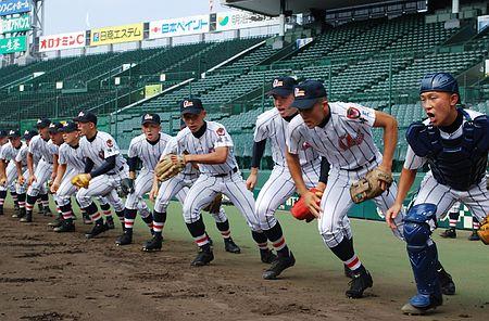 小島ら春夏Vへ 浦和学院が甲子園練習