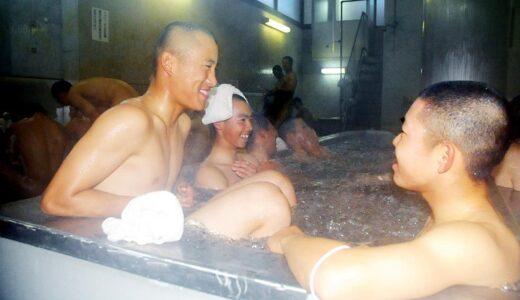<浦和学院だより>入念に強風対策 佐藤はブルペン調整 銭湯で明日への鋭気