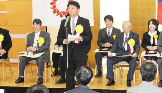 埼玉文化賞の授賞式・懇親会に浦学野球部・森士監督ら参加