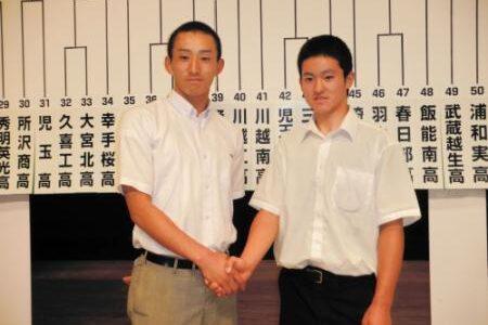 浦和学院は狭山経済と 高校野球埼玉大会
