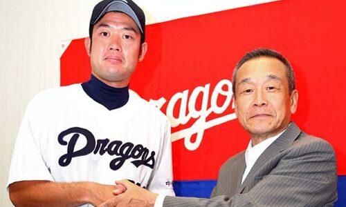 中日・赤坂和幸選手(28期生)を支配下登録「全員ライバルです」