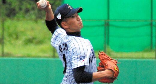 高校野球日本代表、浦学・小島が好投 近大と練習試合