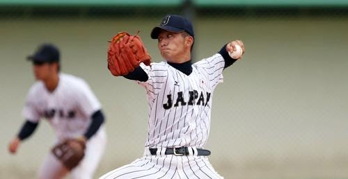 小島と岸が無失点の好投 U-18日本代表、逆転サヨナラで決勝進出