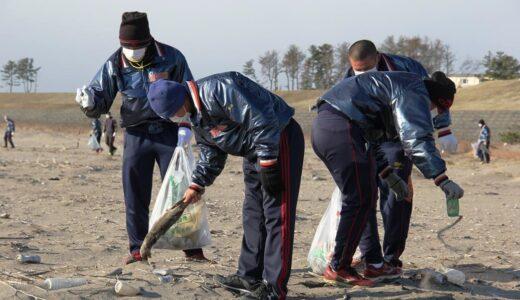 浦学野球部が石巻市、東松島市で支援・交流活動を実施