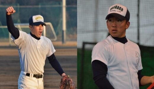 センバツ'15・栄光を再び:浦和学院(3)諏訪賢吉三塁手、高橋司右翼手