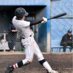 先制打を含む2安打を放った浦和学院の4番・山崎