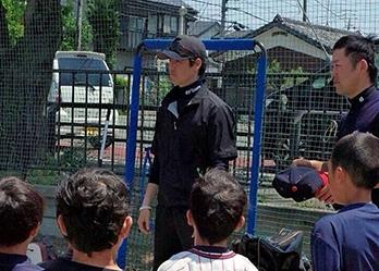 元ヤクルト・坂元弥太郎氏がスクール開校「自由に野球できる環境を」