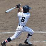 本塁打を含む2安打を放った浦和学院・津田