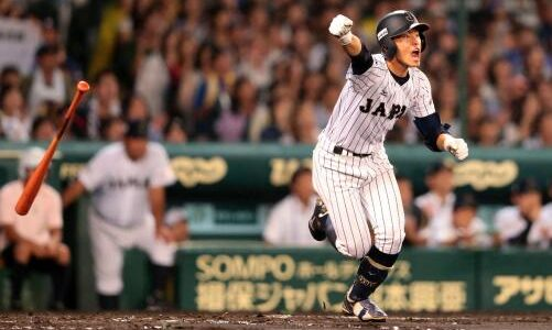 U-18日本代表、米国に惜敗し準優勝 津田、1安打1打点の活躍