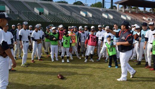浦和学院野球部、障害者と交流 ふれあい野球教室