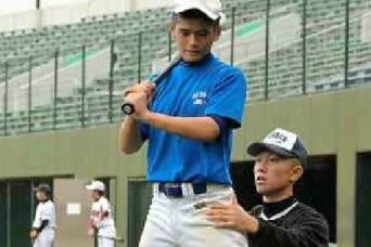 野球フェス、浦学の選手らが中学生指導