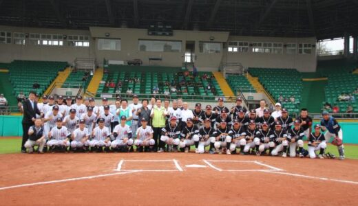 浦和学院、台湾の高校と親善試合 野球を通じて交流深める(11/23追記)