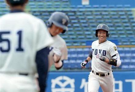 東洋大、逆転勝ちで勝ち点2 新人津田が3点弾で試合決める