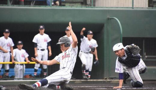 浦学、星野にコールドで4強 快勝手繰る好走塁 秋季県大会