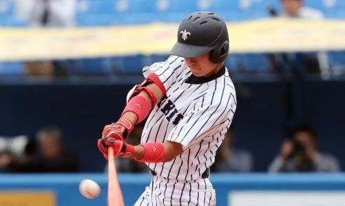 立大のドラフト候補、佐藤拓也が通算100安打