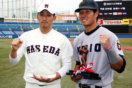 早大・小島投手が最優秀防御率 東京六大学野球