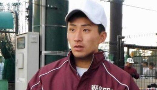 早大・小島初練習に4球団「(ドラフト)1位を目指していきたい」