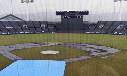 U18日本代表、雨天中止であす9日に中国と3位決定戦