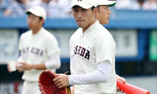 早大・小島完投で通算19勝 自己最多13K 東京六大学野球