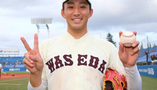 早大・小島が完封でリーグ通算20勝 東京六大学野球