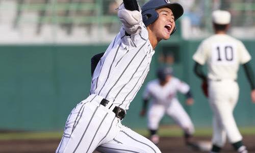 浦学、報徳学園にサヨナラ勝ちで1位 中前が決勝打 福井国体
