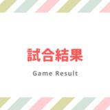 2021年4月13日の試合結果(春季南部B組代表決定戦)