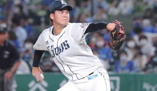 西武・渡邉勇太朗がデビュー登板 3回2安打無失点