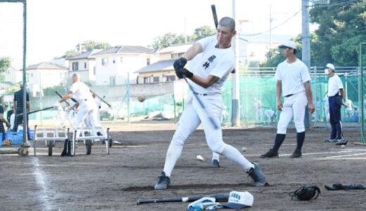 <浦和学院だより>低く強い打球意識 努力重ねる藤井に注目