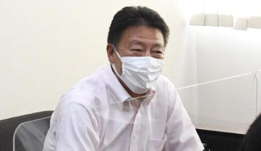 浦和学院野球部前監督・森氏が埼玉新聞社来訪 30年間の思い語る
