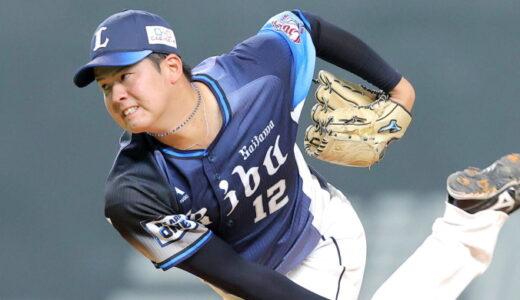 西武・渡邉勇太朗投手、6回途中まで完全投球 白星逃すも「後半戦で一番いい投球ができた」