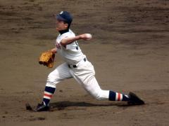 萩原大投手(2010年春季県大会決勝)