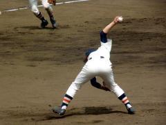 喜多投手(2010年春季県大会決勝)